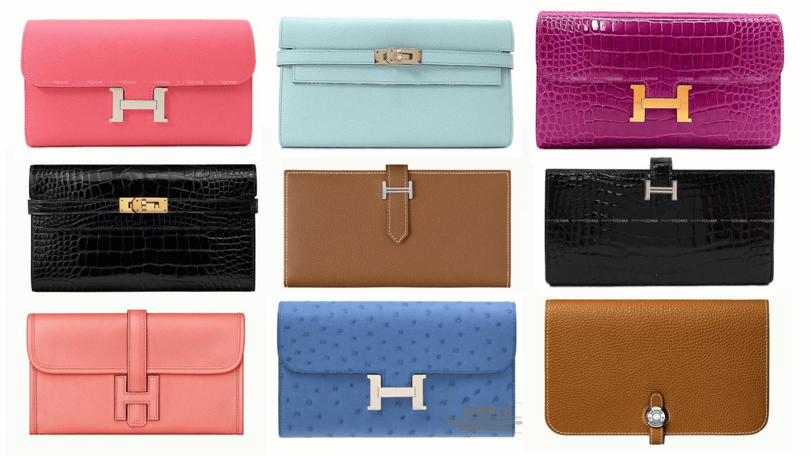 エルメスで人気の長財布12選(レディース)|定番の形や人気の色、値段は?