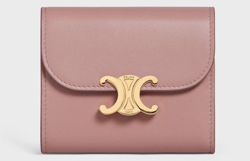 セリーヌのおすすめ財布 スモール トリオンフ ウォレット / シャイニースムースラムスキン